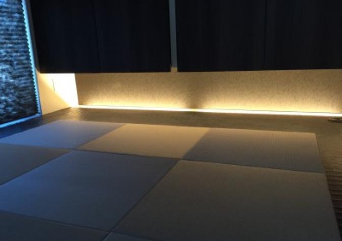 和室の間接照明
