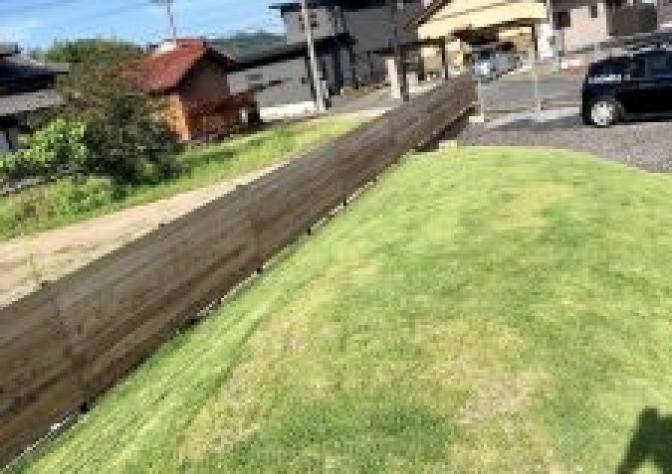 ☆ウッドフェンス完成☆