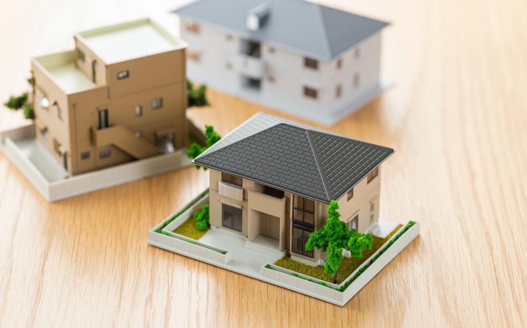 住宅模型の写真