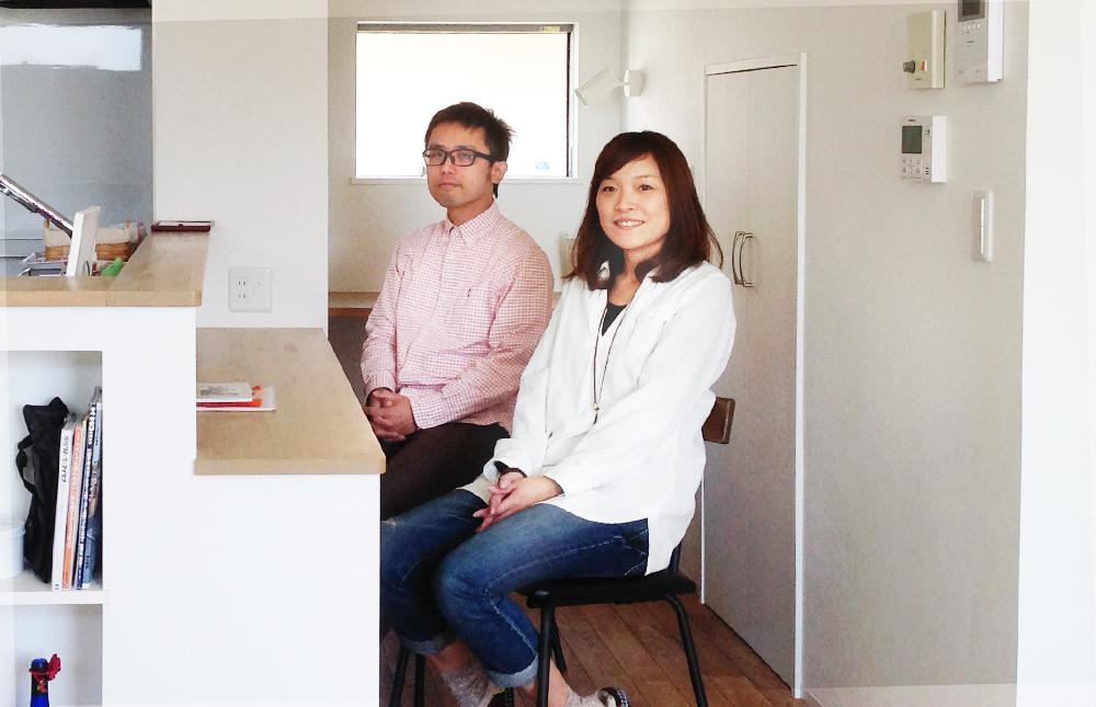 イメージ通りの家が完成して、自分たちで設計する注文住宅の良さを改めて実感