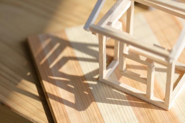木造住宅 模型