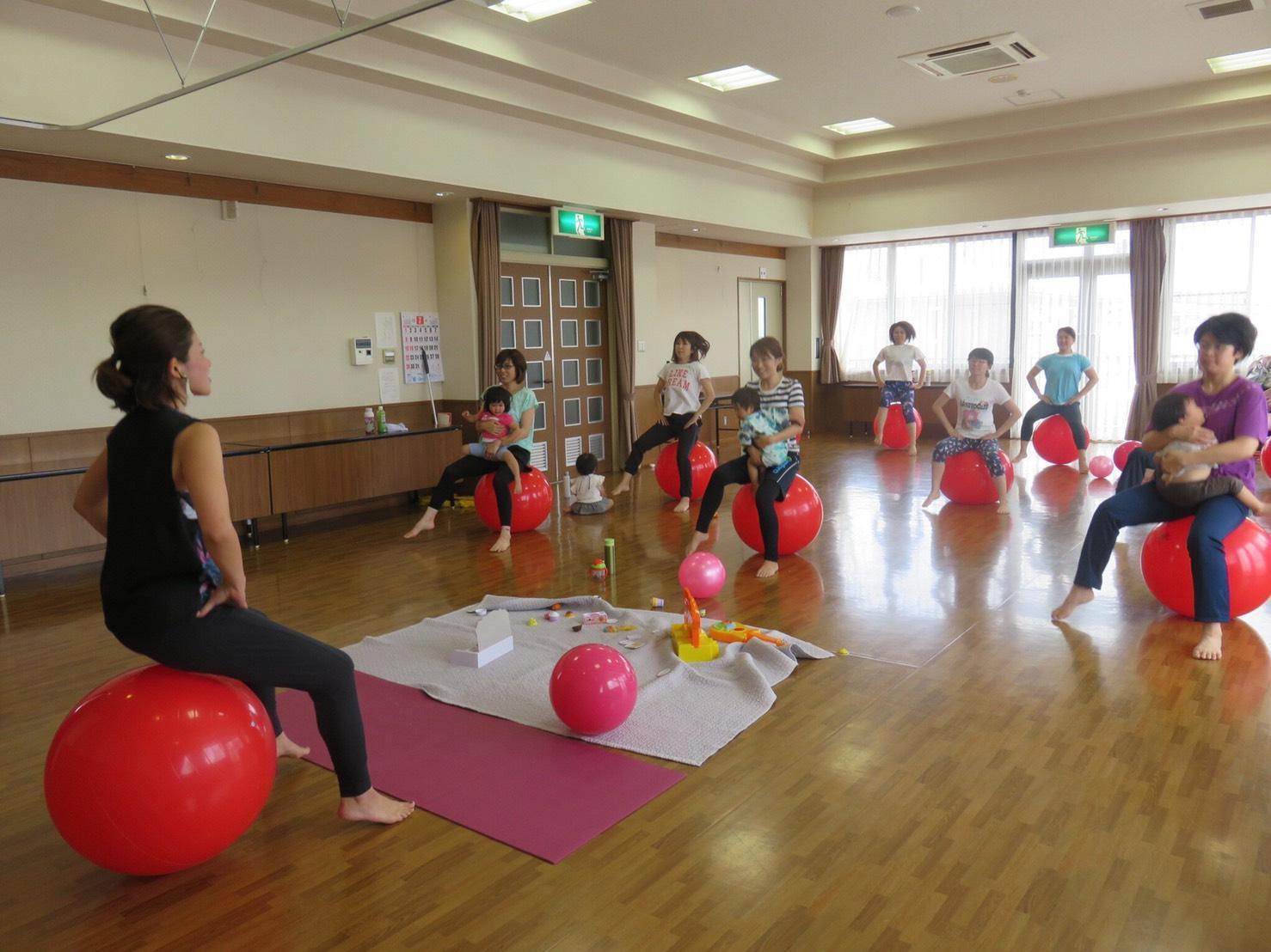 バランスボール~産後トータルケアクラス~全6回【関店】