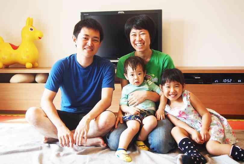 居心地の良いリビングでコミュニケーションが増える家族の絆が深まる家
