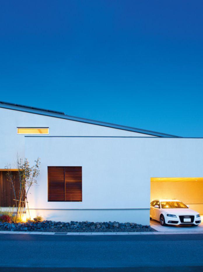 デザインにとことんこだわった2世帯住宅