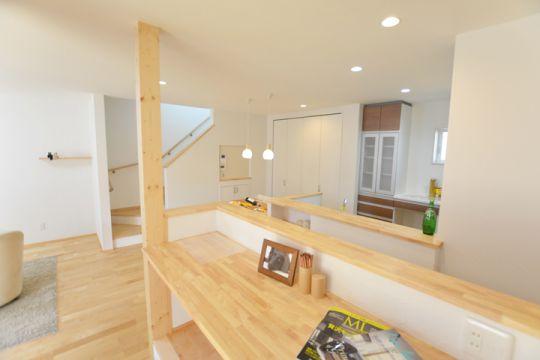 自然素材あふれる家